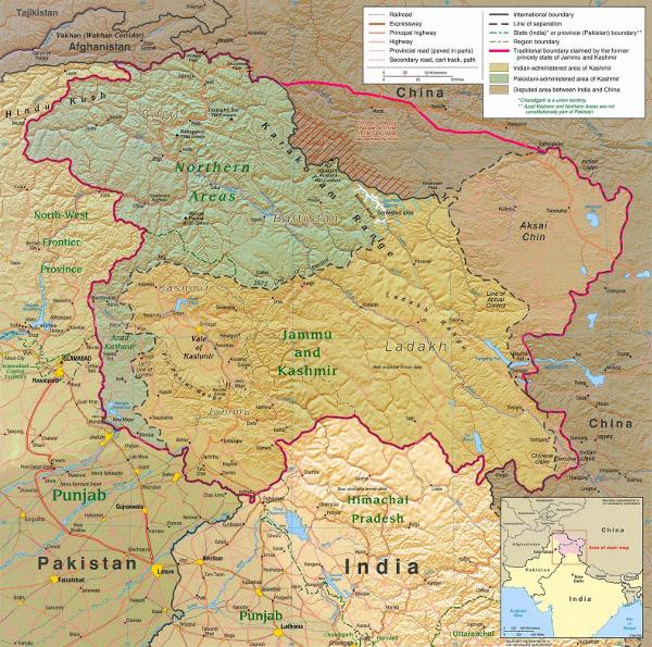 Kashmirmap